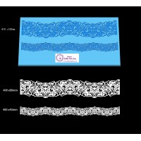 Cake Lace Dual Ribbon Mat For Cake Decoration - Oriana Lace Mat